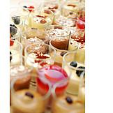 Dessert, Pudding, Night Table