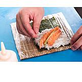 Preparation, Sushi, Temaki