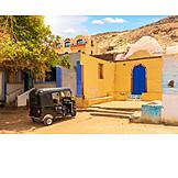 House, Egypt, Auto Rickshaw