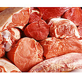 Meat, Butcher, Raw Meat