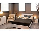 Double Bed, Bedroom, Love