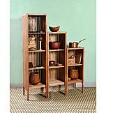 Wood, Wood Shelf, Cakestand