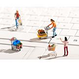 Shopping, Cart, Shopping Cart, Online Shopping
