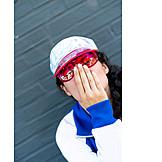 Fashion, Sunglasses, Blow A Kiss