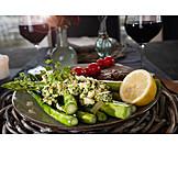 Dinner, Asparagus