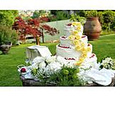 Decoration, Wedding Cake, Wedding Reception