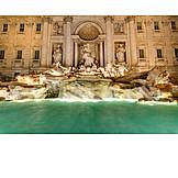 Fontana di trevi, Trevi fountain