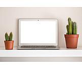 Copy Space, Laptop