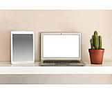 Copy Space, Laptop, Tablet-pc