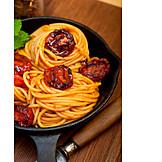 Spaghetti, Lunch