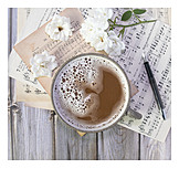 Coffee, Musical Note, Compose