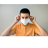 Teenager, Getting Dressed, Pandemic