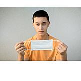 Teenager, Mouthguard, Pandemic