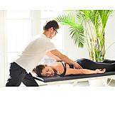 Massage, Lumbar, Osteopathy