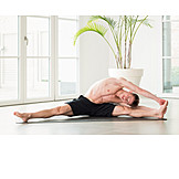 Yoga, Seitbeuge