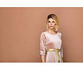 Woman, Elegant, Fashion, Retro, Dress