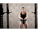 Muscle Exercise, Weightlifting, Workout, Kettlebell