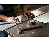 Craft, Measure, Workshop, Metalworker
