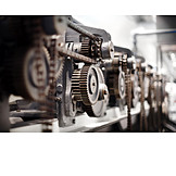 Industry, Gear, Production, Factory