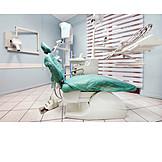 Dentist, Treatment Room, Dentist Chair