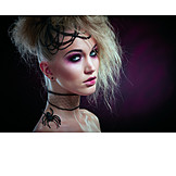 Gothic, Makeup, Halloween