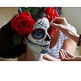 Cladding, Makeup, Halloween