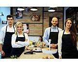 Gastronomy, Team, Portrait