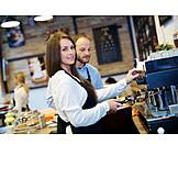 Gastronomy, Cafe, Coffee Maker, Barista