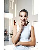 Business Woman, Smiling, Portrait