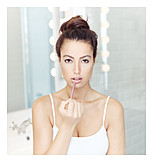 Lipstick, Beauty Culture, Applying
