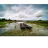 Fishing Boat, Water