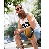 Fashion, Beard, Hipster