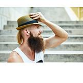 Fashion, Straw Hat, Hipster