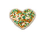 Health, Heart, Medicine, Vitamins, Pill