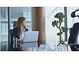 Office, Pensive, Entrepreneur