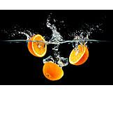 Refreshment, Orange, Splash