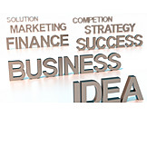Business, Success, Strategy, Marketing, Word Cloud