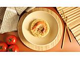 Asian Cuisine, Shrimp, Lunch, Instant Noodle