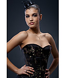 Party, Self Confident, Corset, Outfit