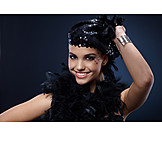 Happy, Party, Carnival, Feather Boa, Outfit