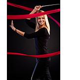Blonde Hair, Gymnastics, Dancer