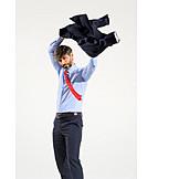 Businessman, Getting Dressed, Vitality