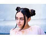 Teenager, Long Hair, Hairstyle, Braids