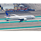 Airplane, United Airlines