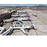 Airplane, Airport, Terminal