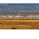Airplane, Airport, Athens