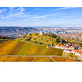 Autumn, Vineyard, Stuttgart, Württemberg