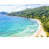 Beach, Sea, Coast, Mahe