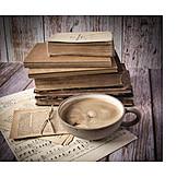 Coffee, Books, Vintage