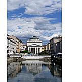 Canal grande, Trieste, Sant'antonio taumaturgo